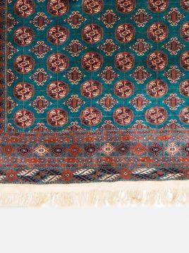 قالیچه نوبافت ترکمن دکو فرش
