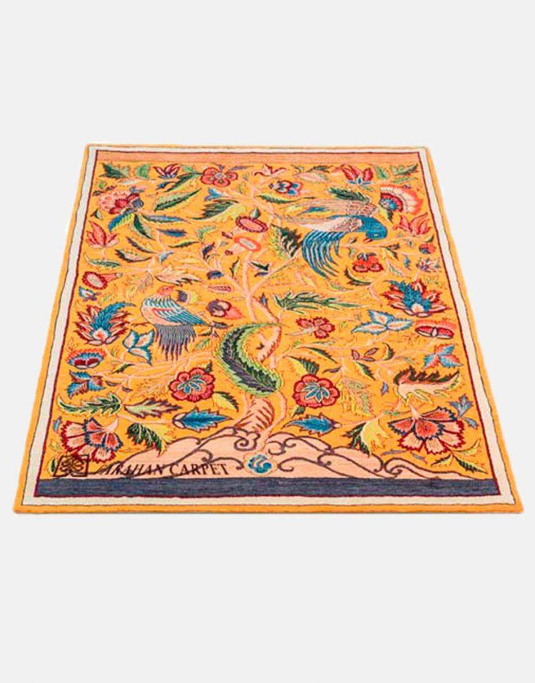 فرش فراهان طرح پرند