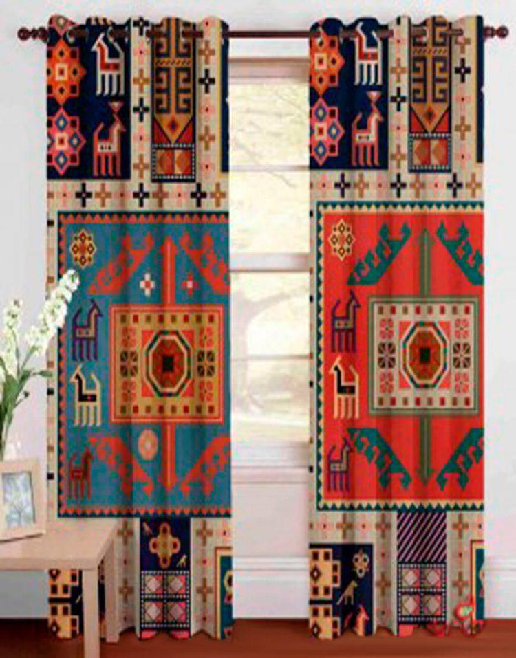 farshonline Traditional curtain 2090 750x957 - پرده طرح سنتی مدلA