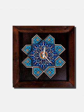 hendesi-Wall-clock-square-two-levels