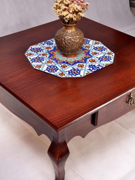 میز جلو مبلی دو کشو هندسی