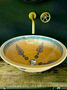 hudud handmade Bathroom Sinks plan sarve 268x358 - روشویی دست ساز طرح سرو