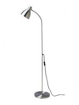ikea aluminium standing desk lamps 1 268x358 - چراغ مطالعه ایستاده آلمینیومی ایکیا