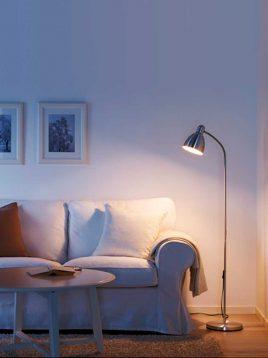 ikea-aluminium-standing-desk-lamps