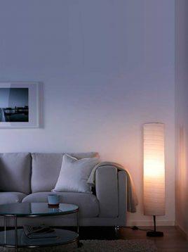 ikea-holmo-paper-Cylinder-floorlamp