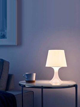 ikea lampan fiberglass table lamp 1 268x358 - آباژور رومیزی ایکیا مدل لمپان