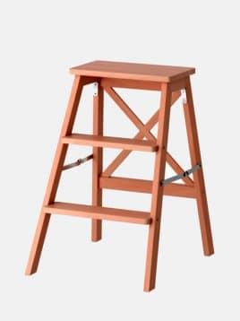 چهارپایه پلکانی چوبی ایکیا مدل BEKVAM