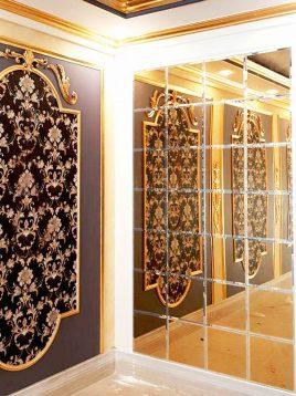 آینه کاری طلایی