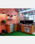 jahangaz Barbecue iland L Plan 2 118x150 - باربیکیو ایلند طرح ال جهان گاز