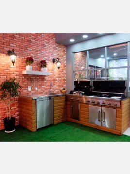 jahangaz Barbecue iland L Plan 2 268x358 - باربیکیو ایلند طرح ال جهان گاز