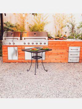 jahangaz Barbecue iland Linear Plan 1 268x358 - باربیکیو آیلند طرح خطی جهان گاز