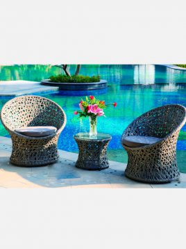 kenzi nokito two person Patio Conversation Sets 1 268x358 - مبلمان فضای باز نوکیتو