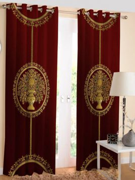 mashhadpardeh-classic-Printed-punch-curtain