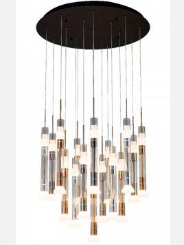 noran LED chandelier modelC174 1 268x358 - لوستر ال ای دی مدل C174 نوران