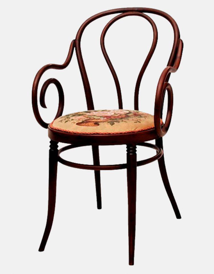 صندلی لهستانی مدلa108 خم چوب آرکان