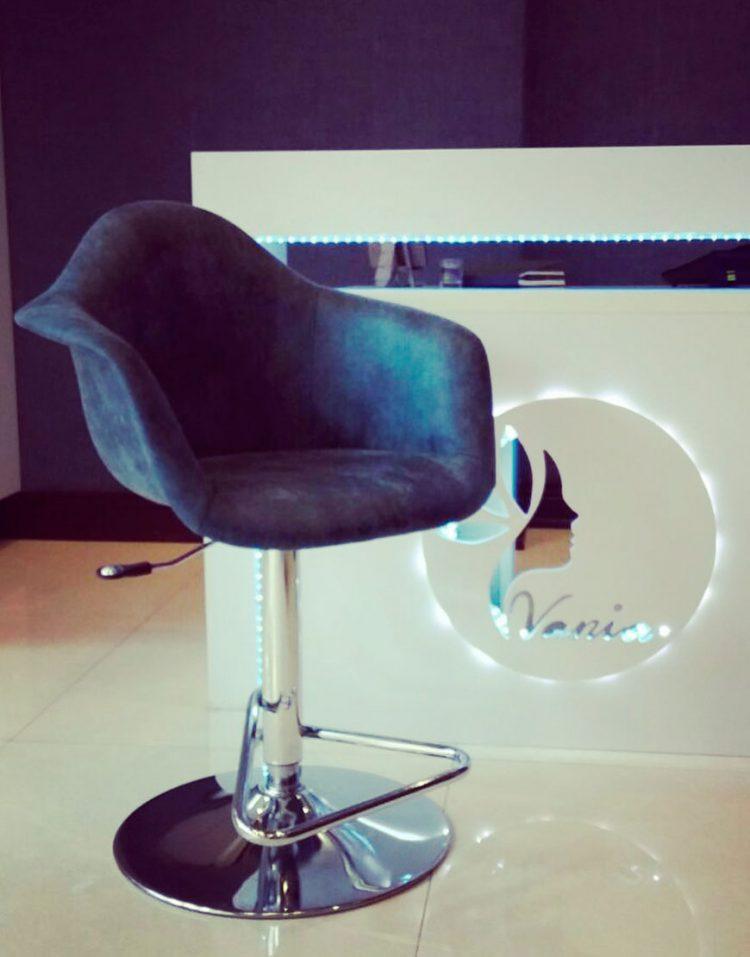 صندلی فلزی اپن جکدار مدل ایزی استیل هامون