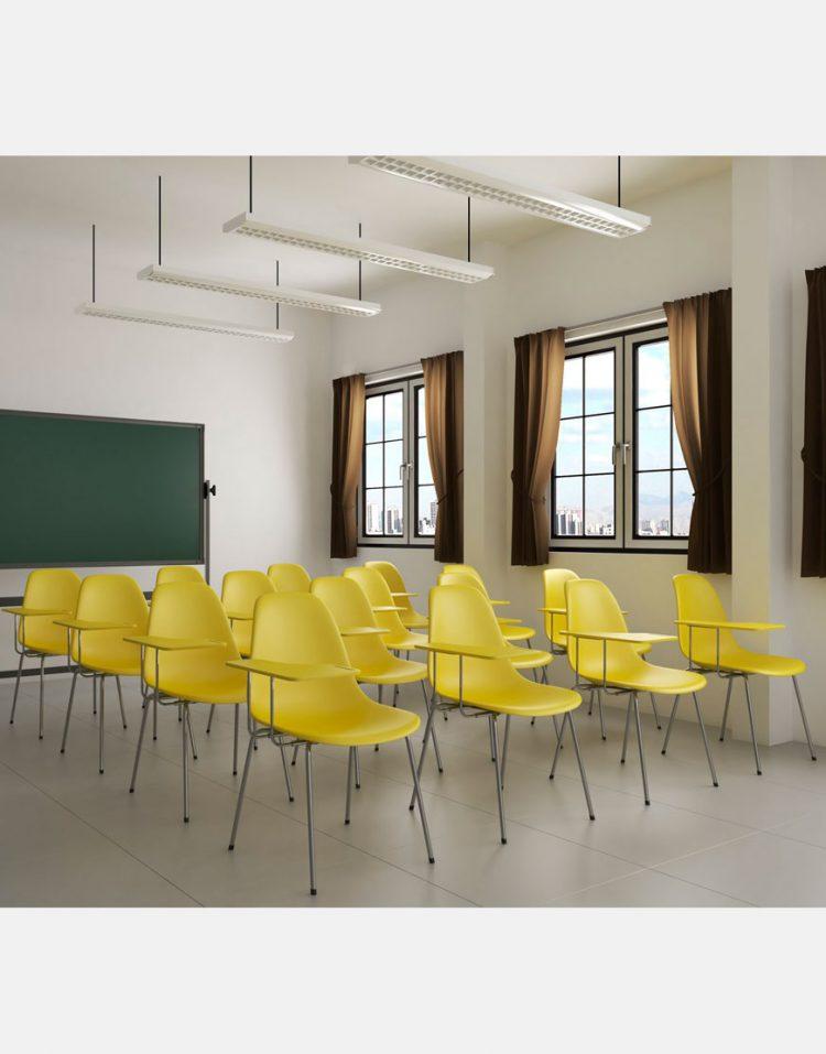 steelhamoon classroom chair 750x957 - صندلی کلاسی بدون تشک