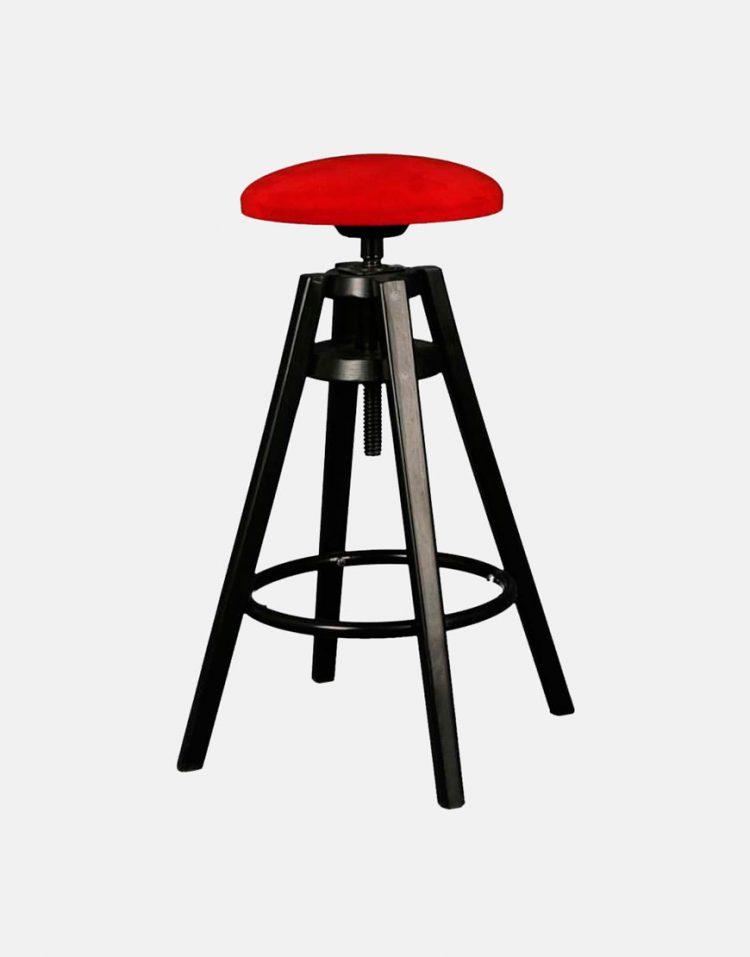 صندلی پایه فلزی مدرن استیل هامون