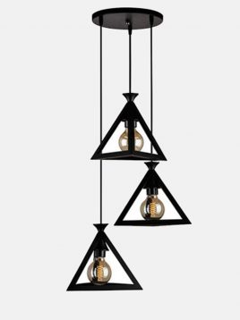 tabesh24 layout herami modern pendants 1 268x358 - چراغ آویز طرح هرم روشنایی تابش