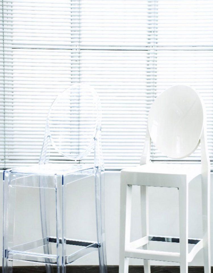 صندلی شیشه ای اپن والارین کد BS448