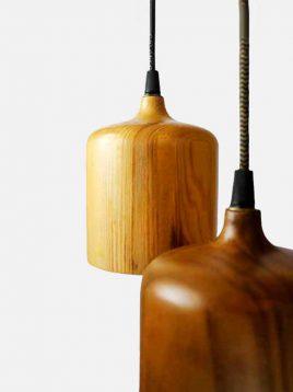 engareh magma1 wooden pendants 1 268x358 - چراغ آویز چوبی انگاره مدل ماگما