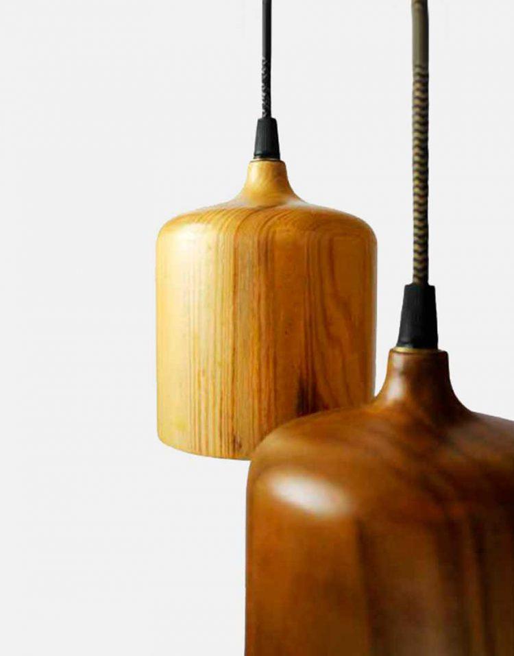 engareh magma1 wooden pendants 1 750x957 - چراغ آویز چوبی انگاره مدل ماگما