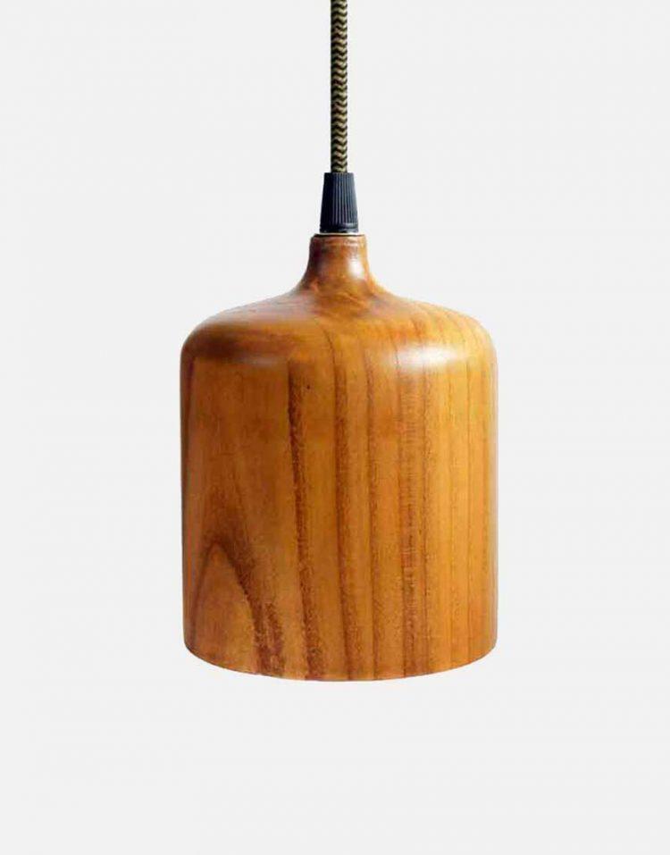 engareh magma1 wooden pendants 2 750x957 - چراغ آویز چوبی انگاره مدل ماگما