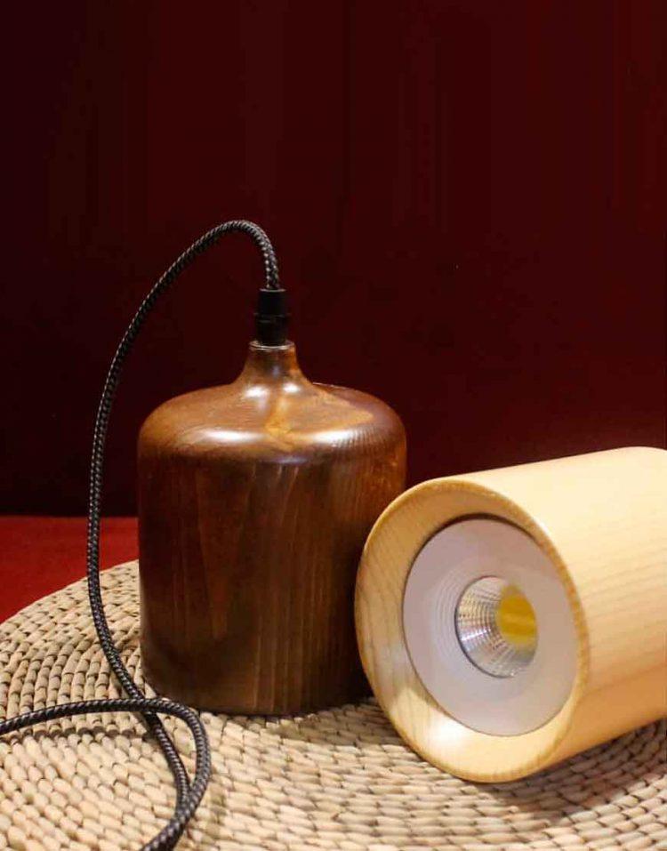 engareh magma1 wooden pendants 9 750x957 - چراغ آویز چوبی انگاره مدل ماگما