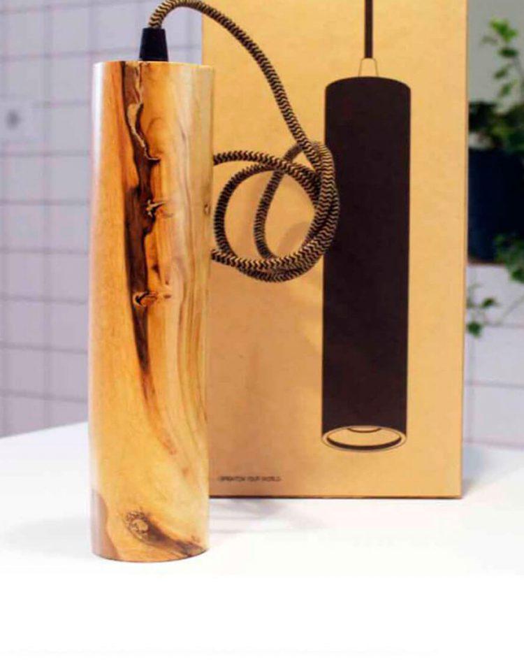 engareh modelNEY1 wooden pendants 4 750x957 - چراغ آویز چوبی انگاره مدل نی