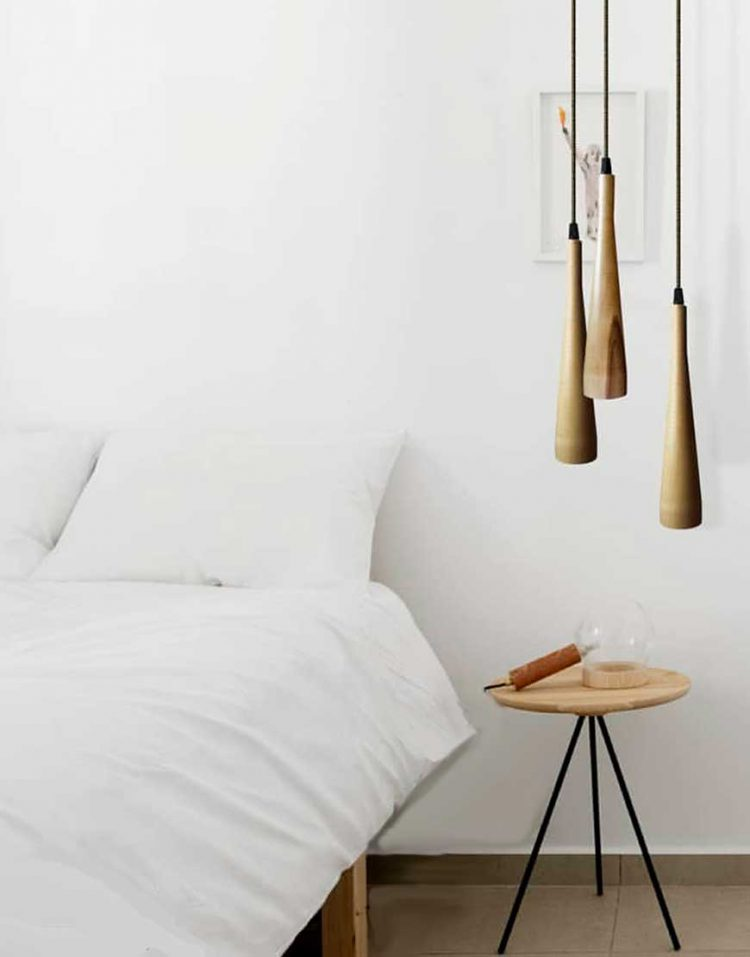 engareh sorena3 wooden pendants 750x957 - چراغ آویز چوبی کهربا مدل سورنا سه