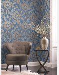 wallpaper roya gold leaf 3 118x150 - کاغذ دیواری رویا طرح b گلد لیف