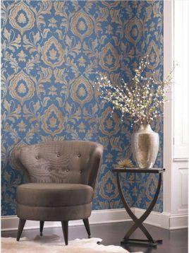 wallpaper roya gold leaf 3 268x358 - کاغذ دیواری رویا طرح b گلد لیف
