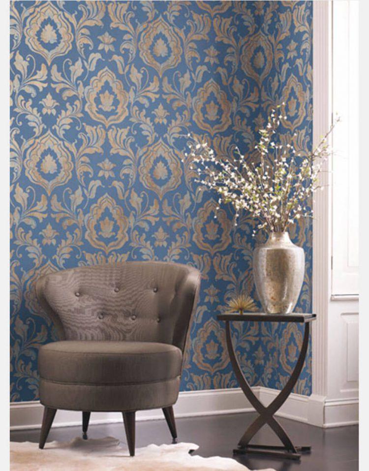 wallpaper roya gold leaf 3 750x957 - کاغذ دیواری رویا طرح b گلد لیف