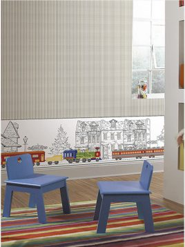 کاغذ دیواری رویا طرح e کودک و نوجوان