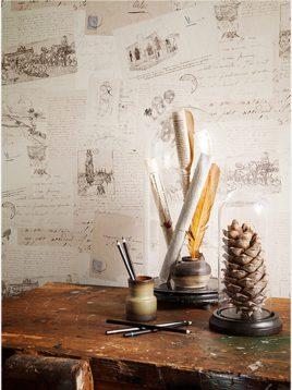 wallpaper roya van gogh 12 268x358 - کاغذ دیواری رویا طرح e ون گوک
