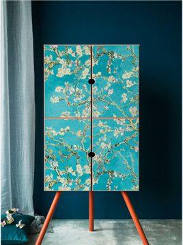wallpaper roya van gogh 2 268x358 - کاغذ دیواری رویا طرح a ون گوک