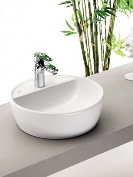 Cerastyle-Drop-In-Sinks-One-model-circle-with-faucet-hole-1