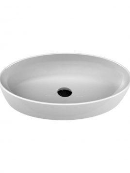 Cerastyle Drop In Sinks One model ellipse 2 268x358 - کاسه روشویی مدل وان بیضی