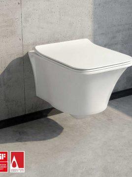 توالت فرنگی دیواری مدل آیبیز