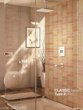 Kelar Built in Shower Systems Series Classic style2 Model Flat 1 268x358 - دوش توکار فلت تیپ ۲ سری کلاسیک