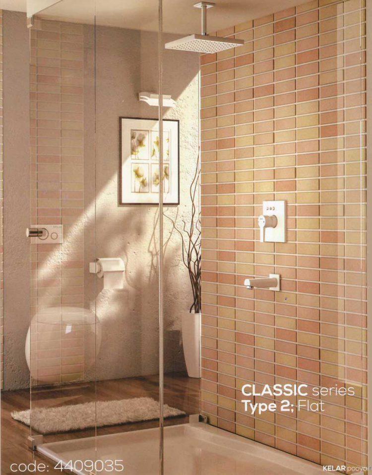Kelar Built in Shower Systems Series Classic style2 Model Flat 1 750x957 - دوش توکار فلت تیپ ۲ سری کلاسیک