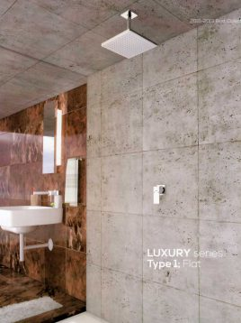 Kelar-Built-in-Shower-Systems-Series-Luxury-style1-Model-Flat1