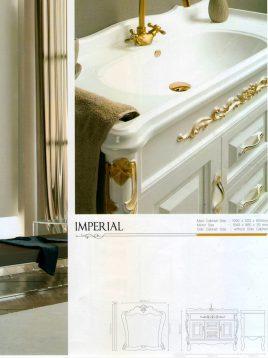 Lotus Bathroom vanities Imperial Classic model2 268x358 - ست روشویی کابینت و آینه حمام مدل امپریال کلاسیک