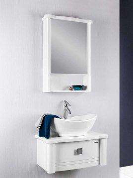 Lotus Bathroom vanities PV2030 model1 268x358 - ست روشویی کابینت و آینه حمام مدلPV2030