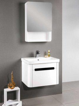 Lotus Bathroom vanities PV207 model1 268x358 - ست کابینت روشویی لوتوس و آینه مدلPV 207
