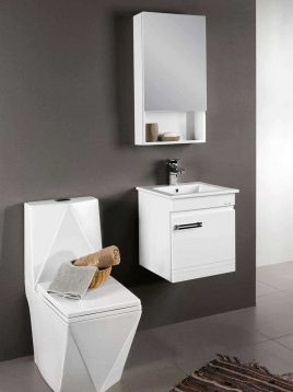 Lotus Bathroom vanities PV731 model1 268x358 - ست کابینت روشویی لوتوس و آینه مدلPV731