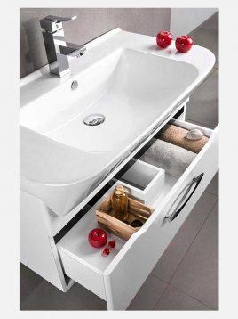 Lotus Bathroom vanities PV8002 model2 268x358 - ست روشویی کابینت و آینه حمام مدلPV8002