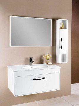 Lotus Bathroom vanities PV9090 model1 268x358 - ست کابینت روشویی لوتوس و آینه مدلPV9090