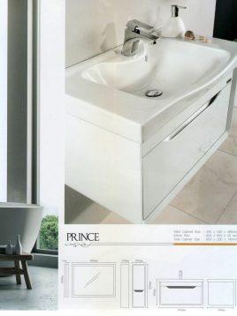 Lotus Bathroom vanities Prince model2 268x358 - ست روشویی کابینت و آینه مدل پرینس