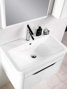 Lotus Bathroom vanities Queen700 model2 268x358 - ست روشویی کابینت و آینه حمام مدل کویین۷۰۰